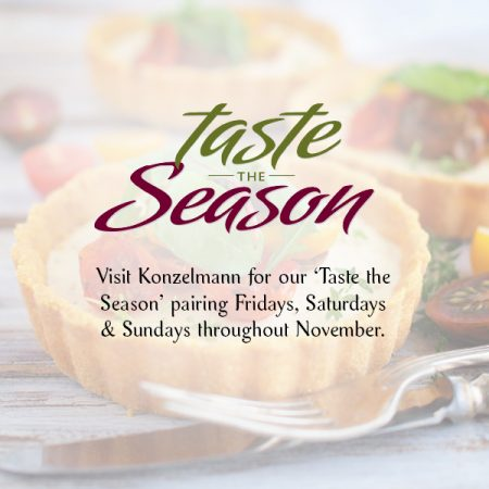 'Taste the Season' throughout November