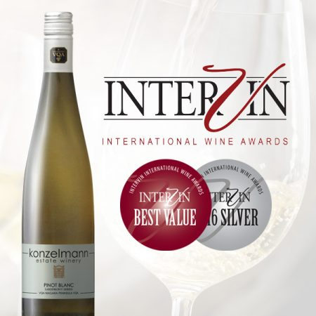 Recent Winner of the 2016 Intervin International Wine Competition - Best Value and Silver