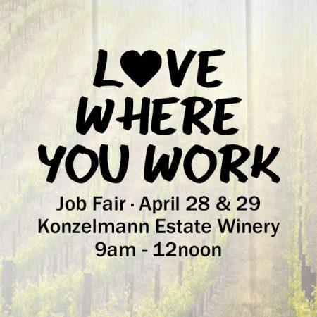 Join the Team. Job Fair April 28 & 29.
