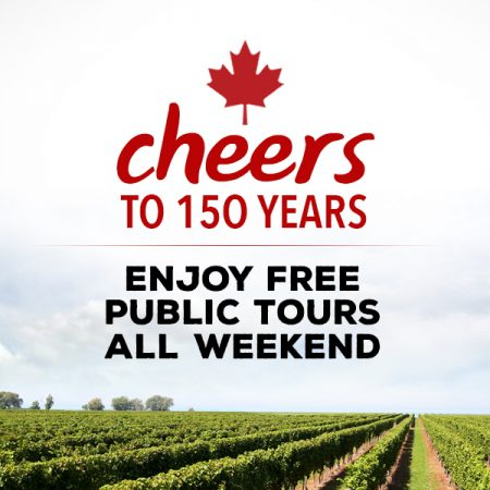 Use Promocode CANADA150 to book your Free public tour this weekend. Happy Birthday Canada!