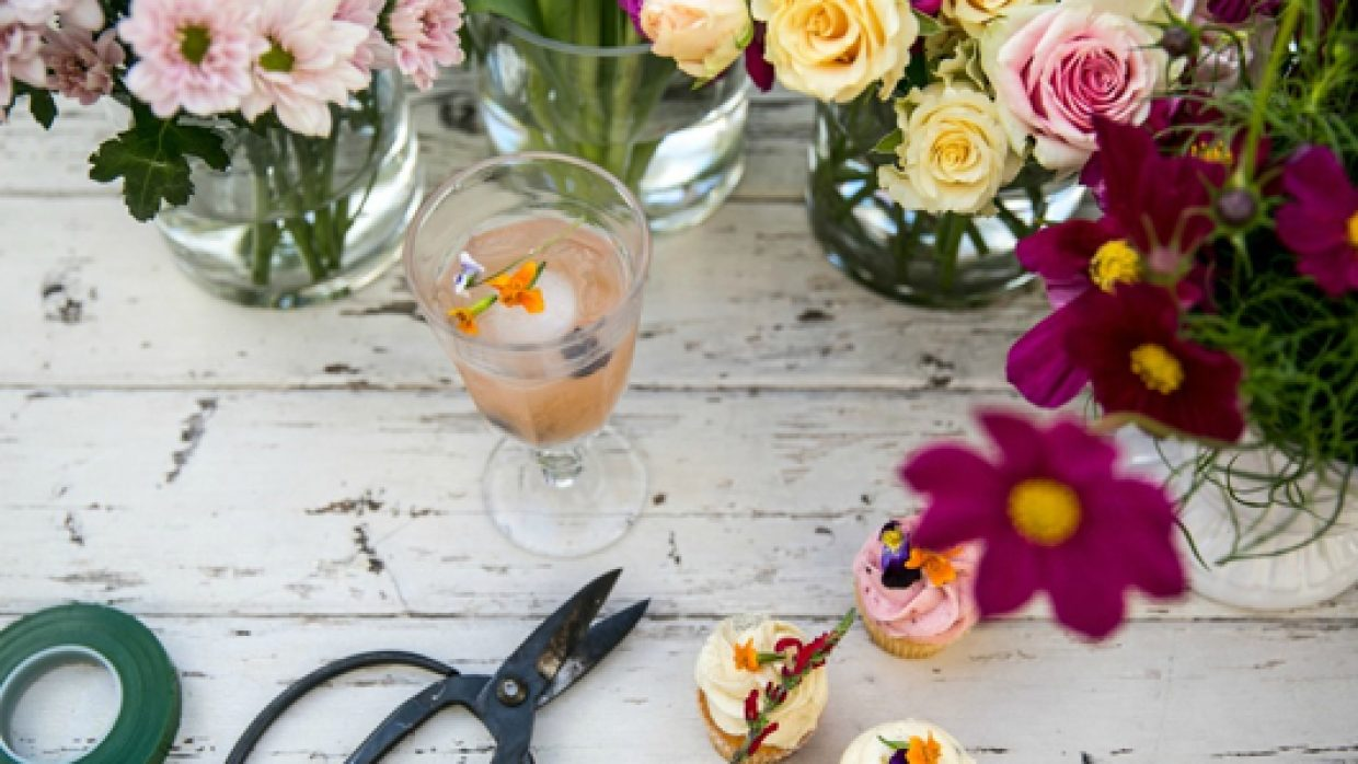 Mother's Day Flower and Wine Workshop