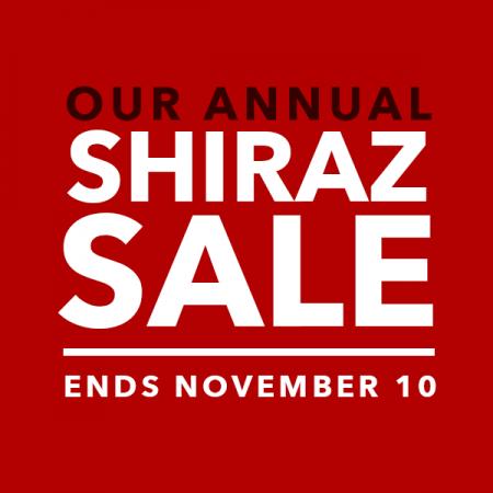 Save $1.50 on Shiraz
