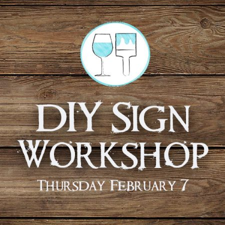 Do It Yourself Sign Workshop