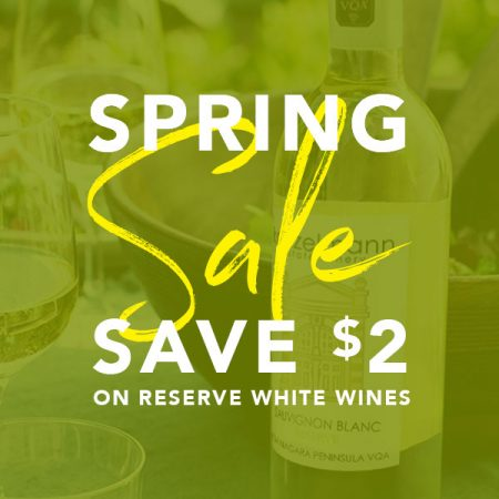 Save $2 on All Reserve White Wines