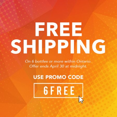Enjoy Free Shipping on 6 bottles of more with  Promocode : 6FREE
